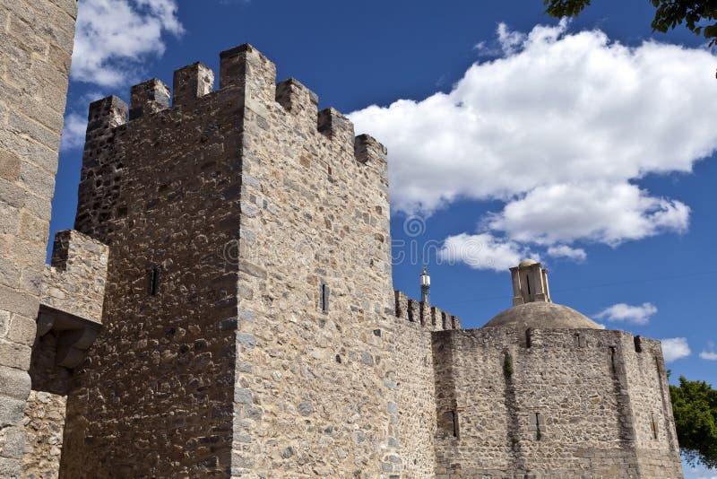 Elvas-Festung stockfoto