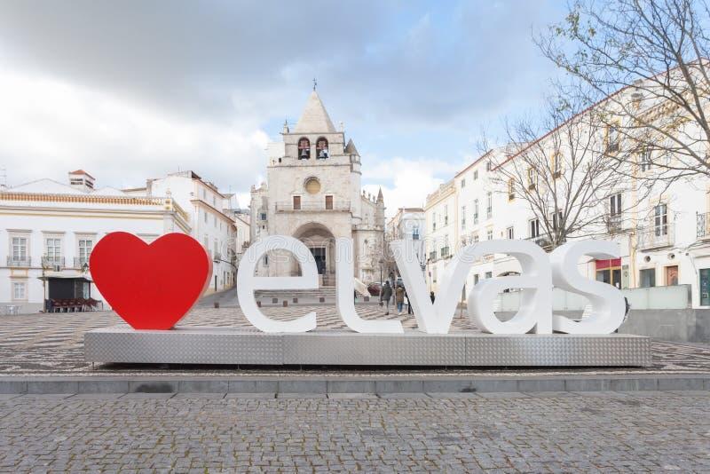 elvas Portugal obraz royalty free