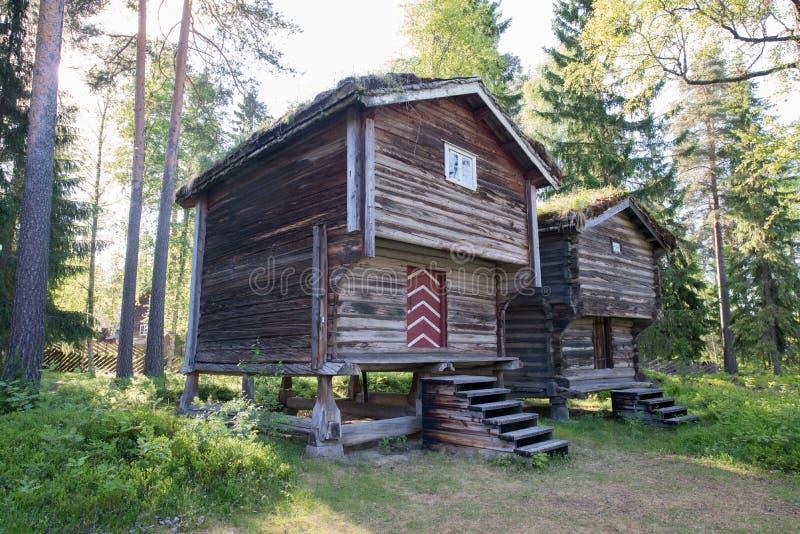 Elverum, Noorwegen stock foto