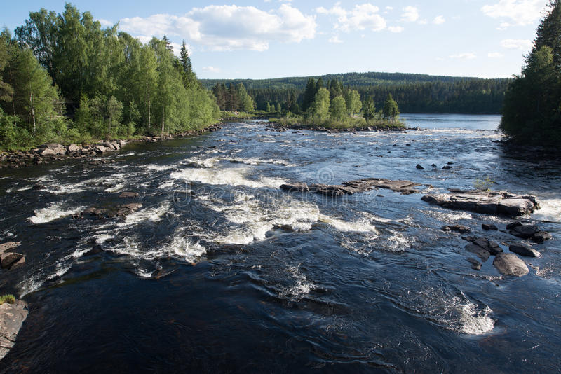 Elverum, Norwegen lizenzfreies stockbild