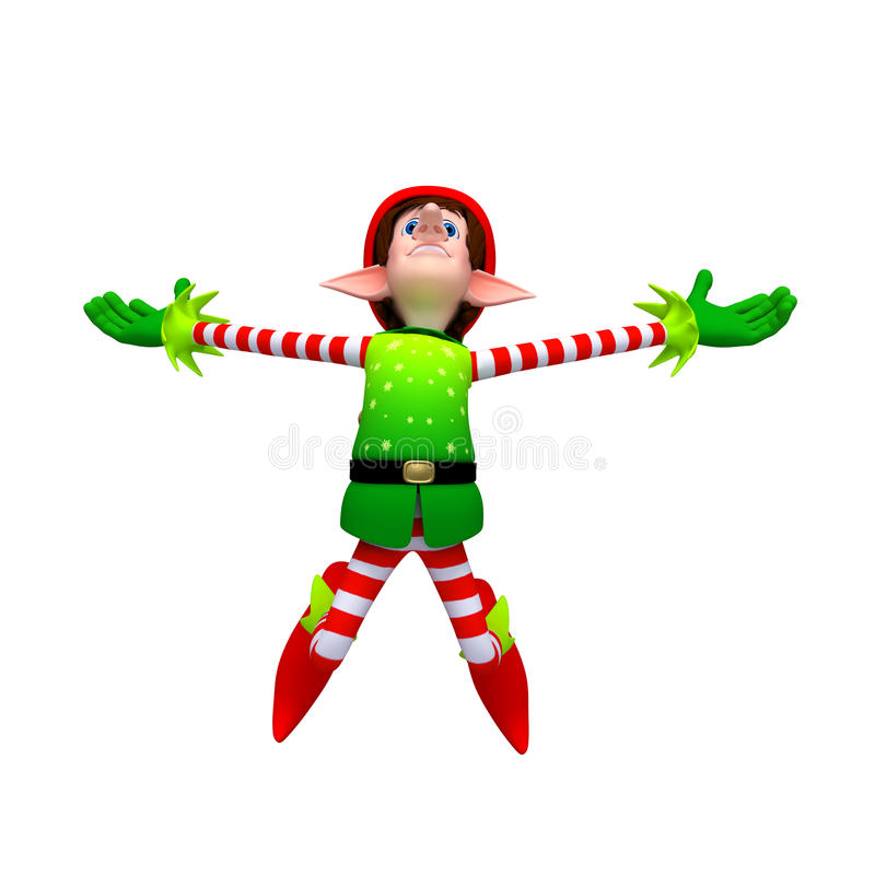 Download Elves stock illustration. Image of joyous, cheer, holiday - 22251831