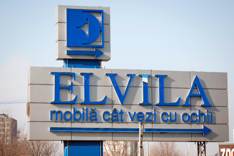 Elvila furniture shop royalty free stock photo