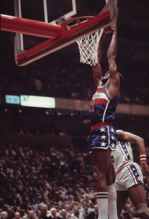 Elvin Hayes, Washington Bullets photographie stock libre de droits