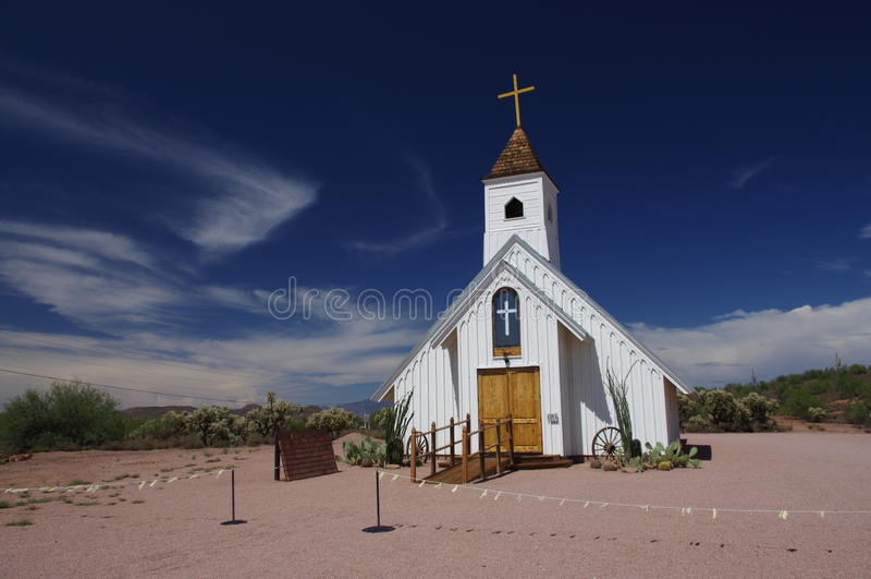Elvis纪念品教堂 免版税库存图片