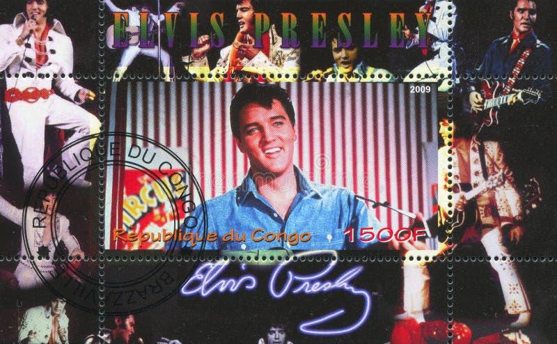 Elvis Aaron Presley στοκ εικόνα