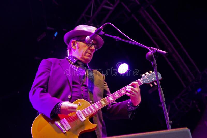 Elvis Costello (9) arkivfoton
