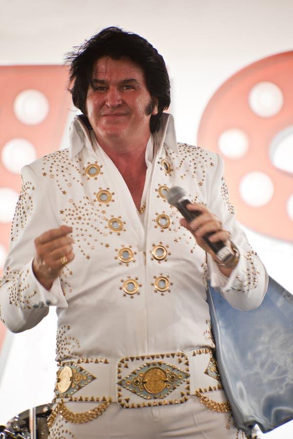 Elvis es vivo imagenes de archivo