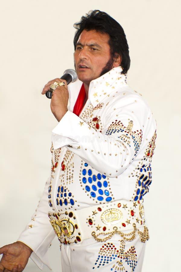 Elvis est vivant photo stock