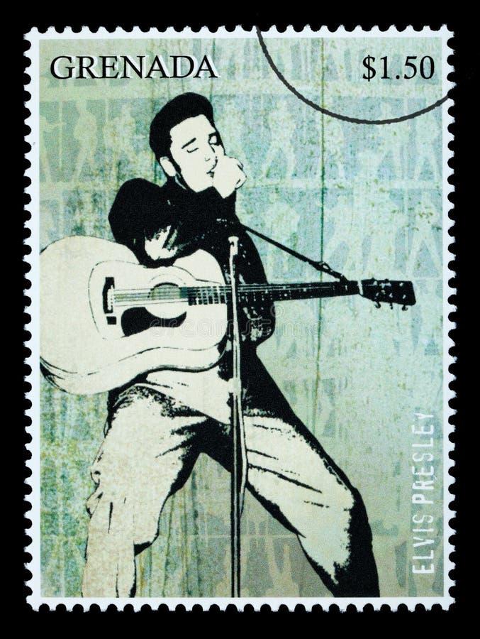 elvis opłata pocztowa presley znaczek ilustracji