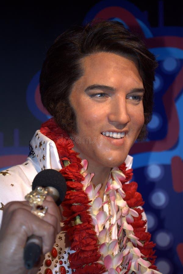 Elvis Presley, Сингапур стоковое изображение rf