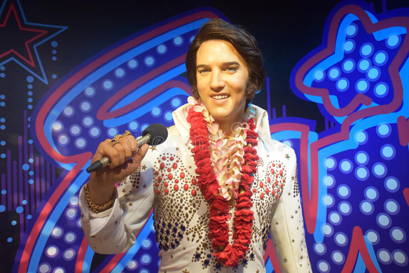 Elvis presley fotografia royalty free