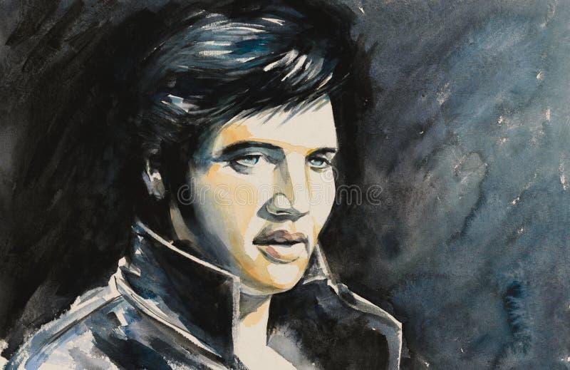 Elvis presley ilustracji