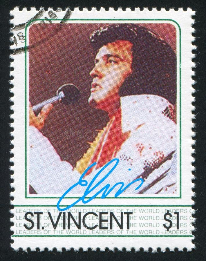 Elvis Presley imágenes de archivo libres de regalías