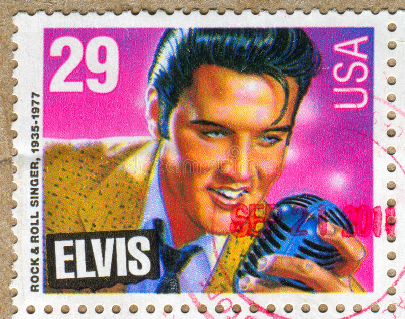 Elvis Presley lizenzfreie stockfotografie