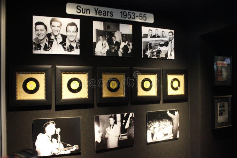 Elvis Presley Graceland Sun Years Collection imágenes de archivo libres de regalías
