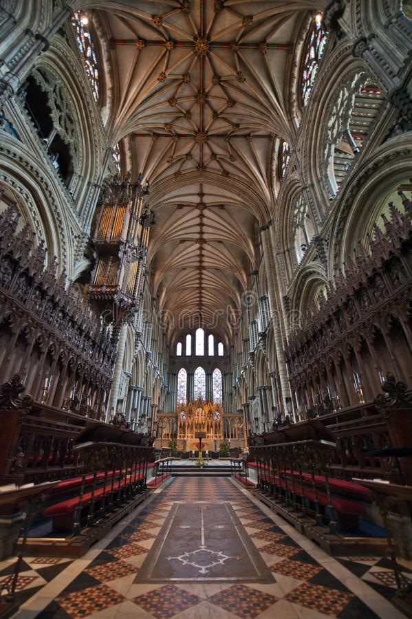 Ely Cathedral Stock Photography