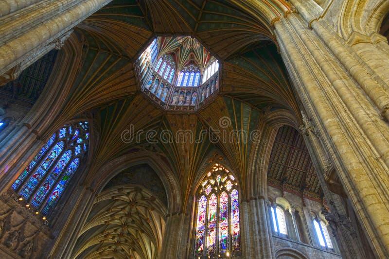 Ely Cathedral oktogon arkivbild