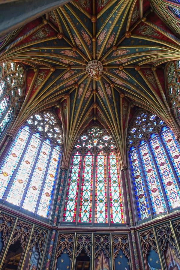 Ely Cathedral oktogon royaltyfri foto