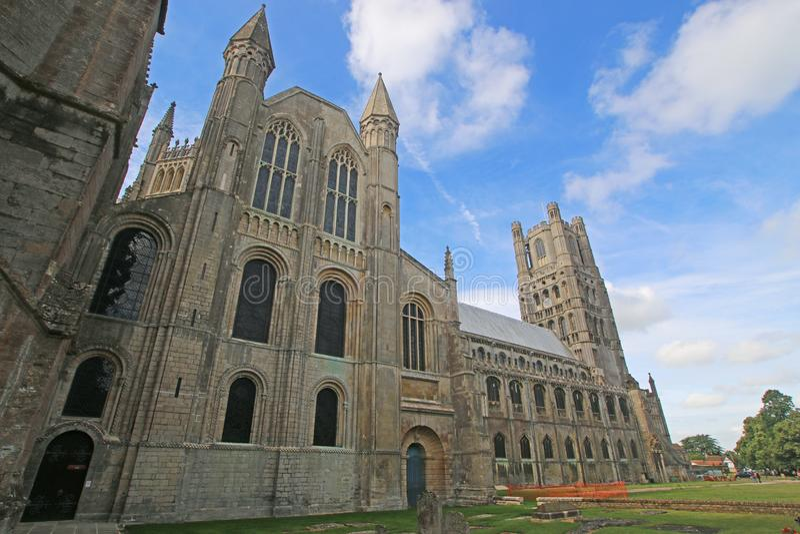 Ely katedra, Cambridgeshire obrazy royalty free