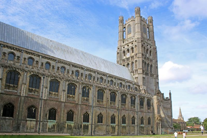 Ely katedra, Cambridgeshire obraz stock
