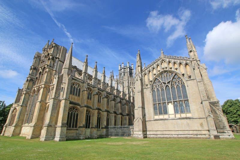 Ely katedra, Cambridgeshire zdjęcie royalty free