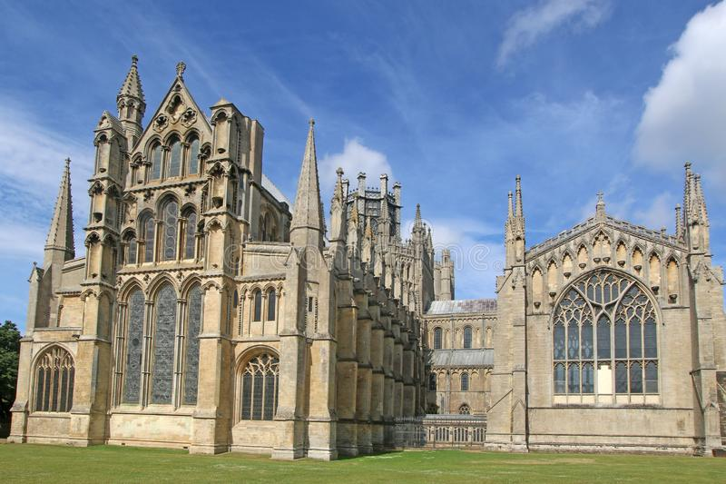 Ely katedra, Cambridgeshire fotografia royalty free