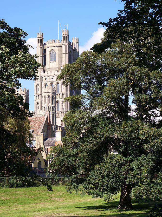 Ely katedra, Ely, Cambridgeshire, Zjednoczone Królestwo zdjęcia stock