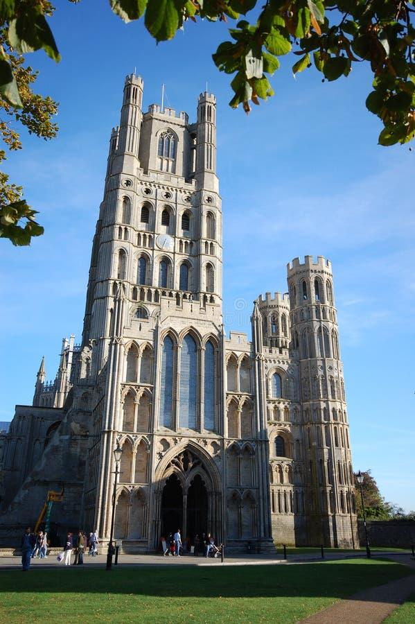 Ely Kathedrale, Cambridgeshire, England stockbild