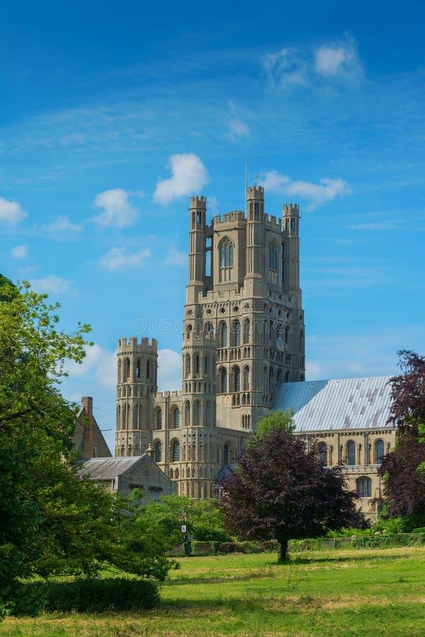 Ely-Kathedrale Cambridgeshire England stockbilder