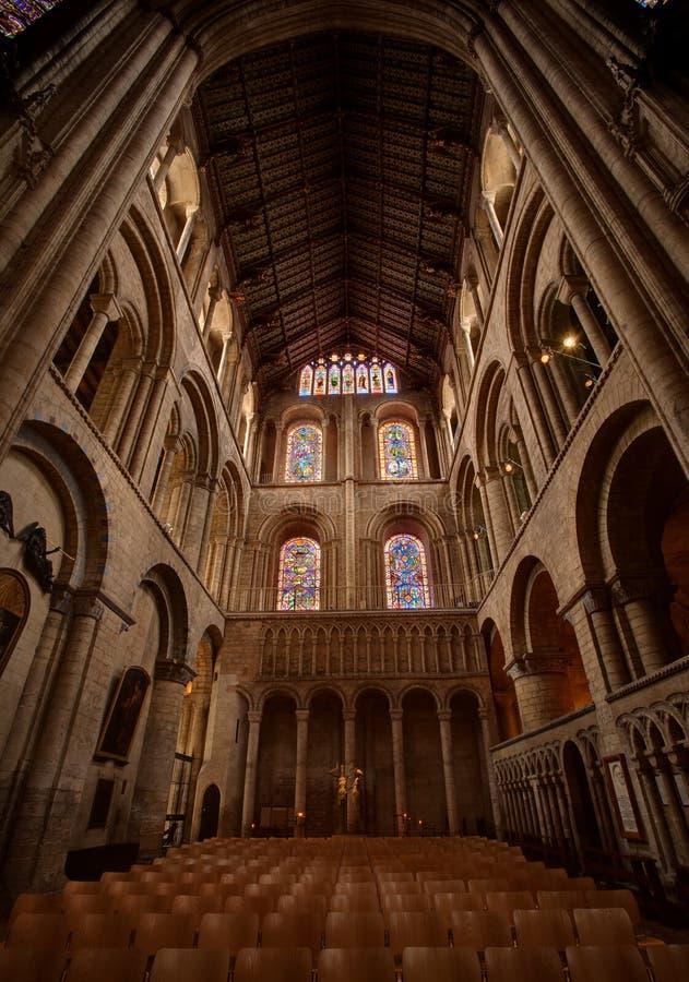 Ely Kathedraleinnenraum stockbild