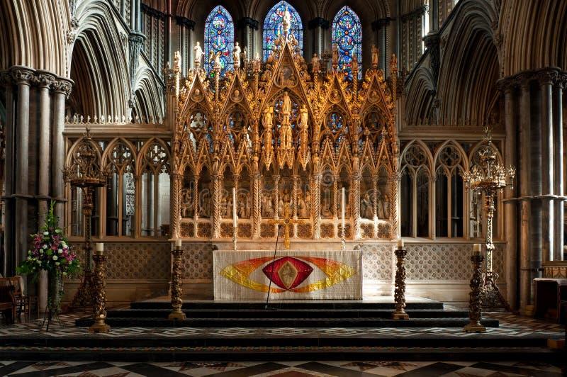 ely ołtarzowa katedra obrazy stock