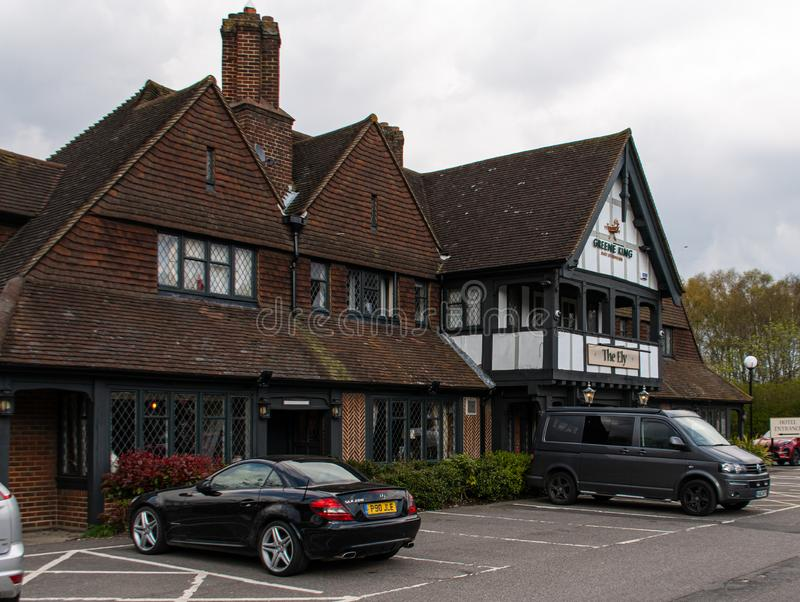 Ely restauracja i pub zdjęcia royalty free