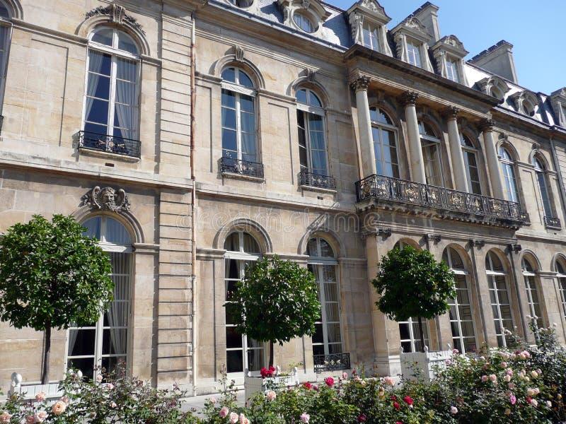 Elysee Palace royalty free stock photo