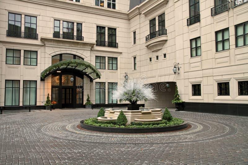 elysian hotell royaltyfri bild