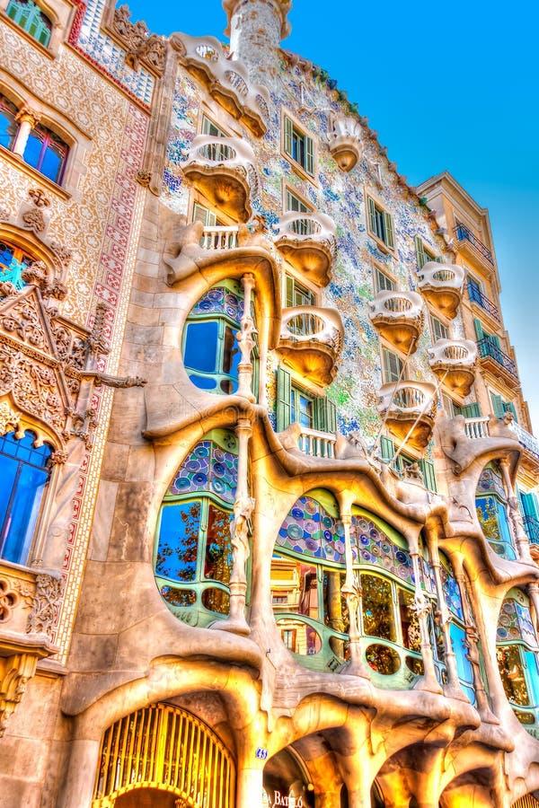 Em Barcelona na Espanha fotos de stock royalty free