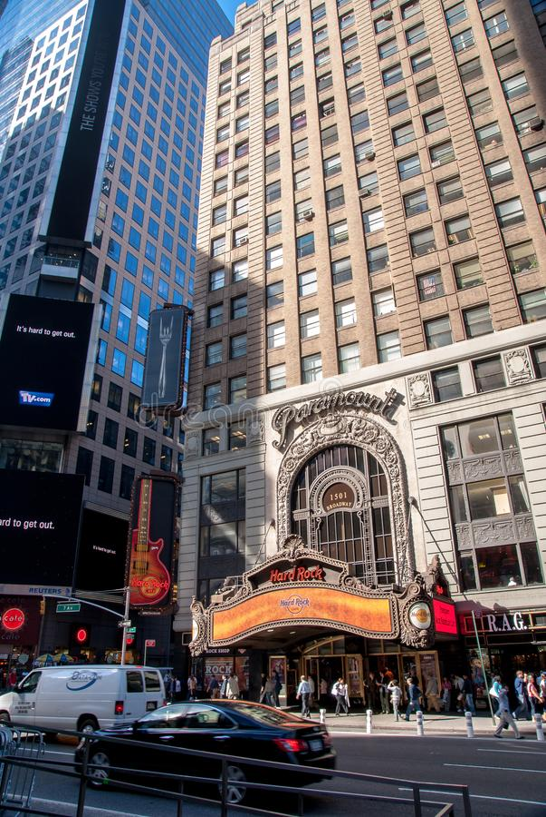 Em Broadway fotos de stock royalty free