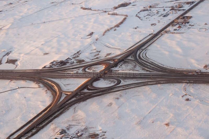 Em Calgary da estrada imagens de stock