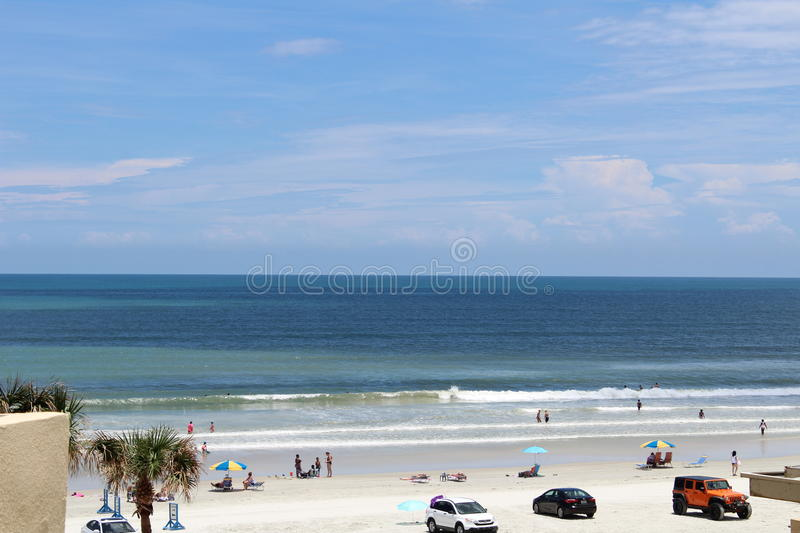 EM DAYTONA BEACH foto de stock royalty free
