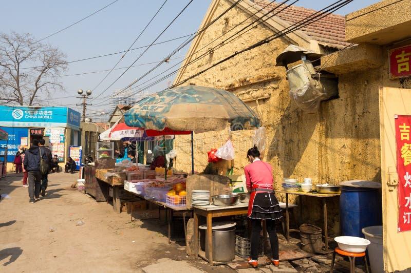 Em março de 2014 - Shandongtou, Qingdao, China fotografia de stock royalty free