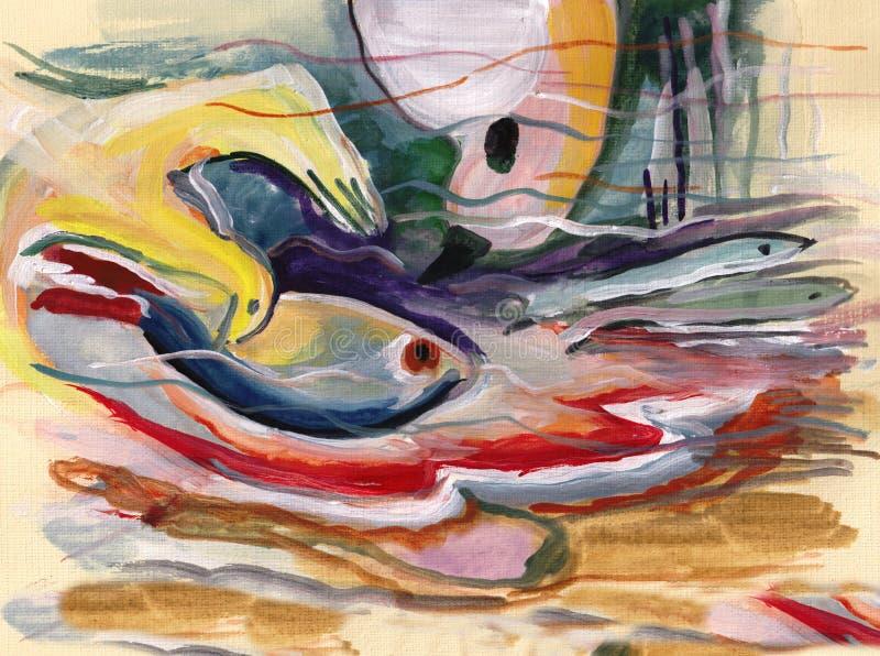 Em motriz do ` s de Kandinsky ilustração royalty free