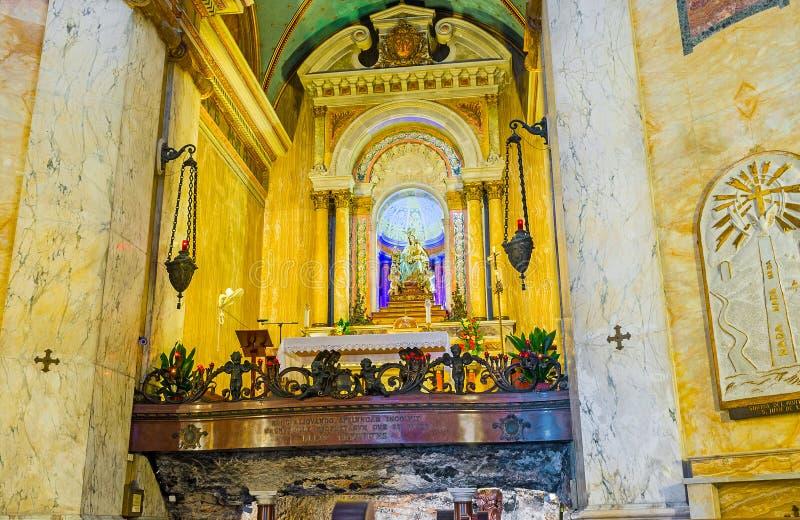 Em Stella Maris Monastery fotos de stock royalty free