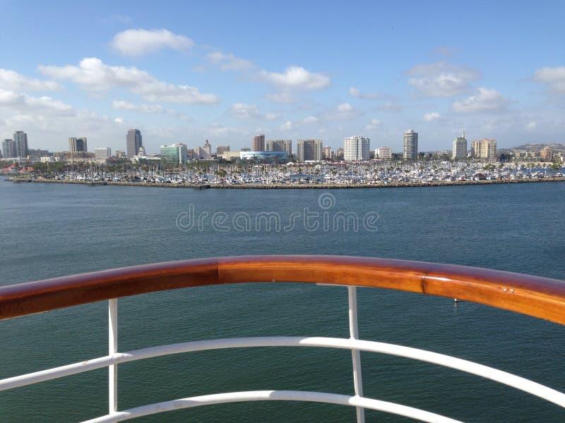 Em um barco foto de stock royalty free