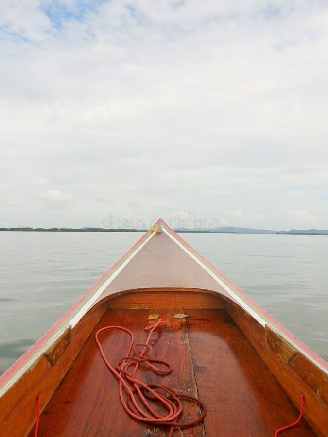 Em um barco a remos fotos de stock royalty free