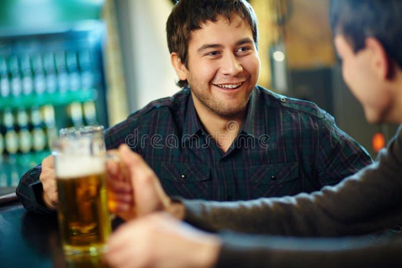 Em um pub fotos de stock royalty free
