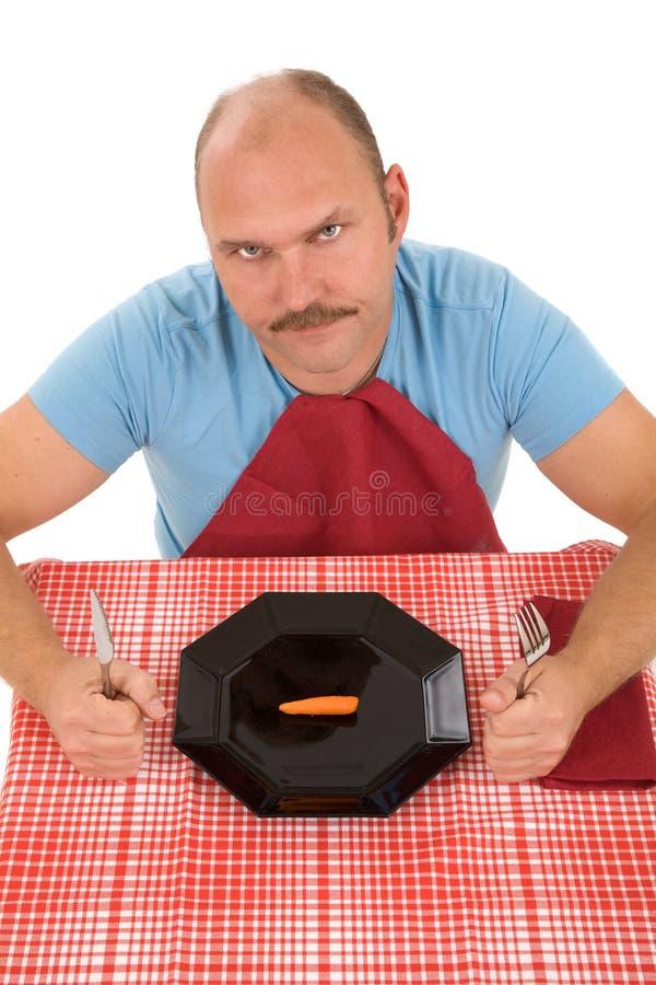 Em uma dieta fotografia de stock royalty free
