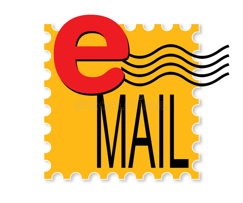 Email royalty illustrazione gratis