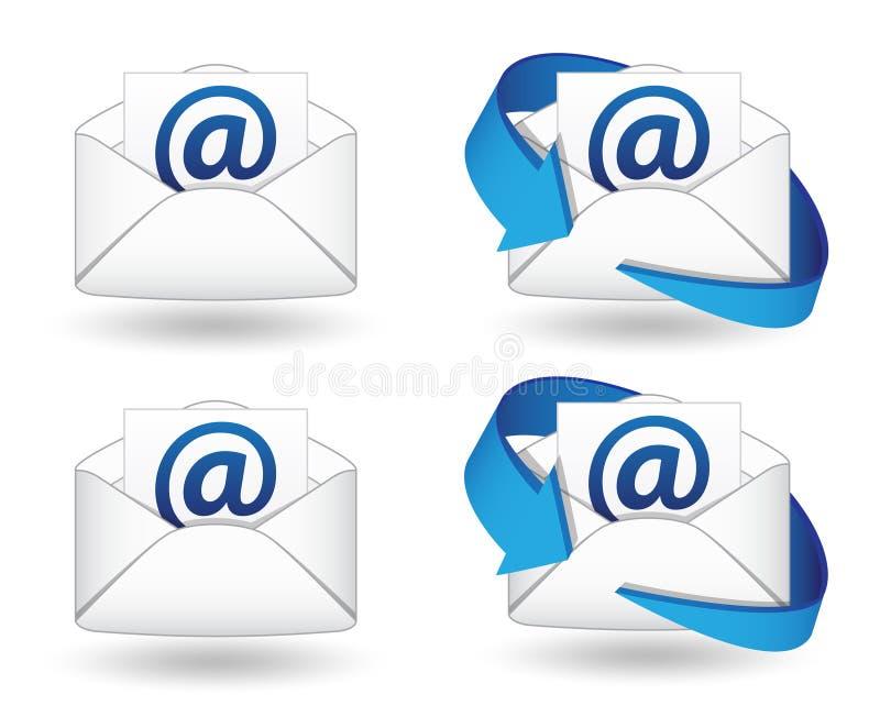 Email fotografía de archivo libre de regalías
