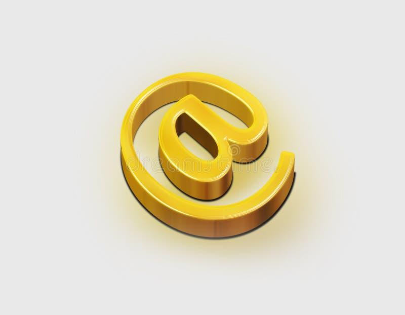 Download Email stock illustration. Illustration of lines, metal - 12521063