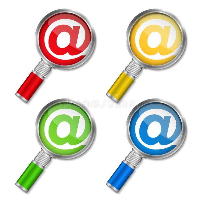 Download Email ilustração do vetor. Ilustração de brilhante, emita - 26522559