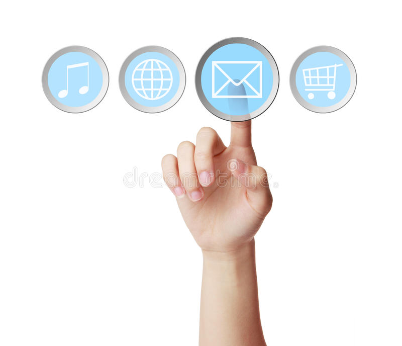 Email image stock